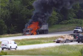 Truck Fire On I-94 Stops Traffic - The News Leaders
