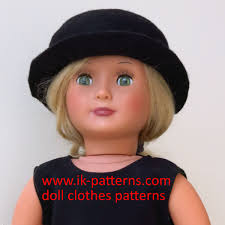 FREE Doll Clothes Patterns 18 Inch Doll Clothes Tutorial CAPE