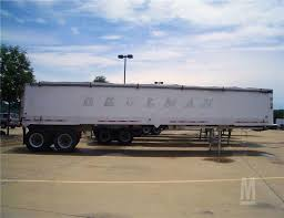 100 Beelman Trucking 2003 VANTAGE Aluminum Framless End Dump Trailer For Sale In EAST