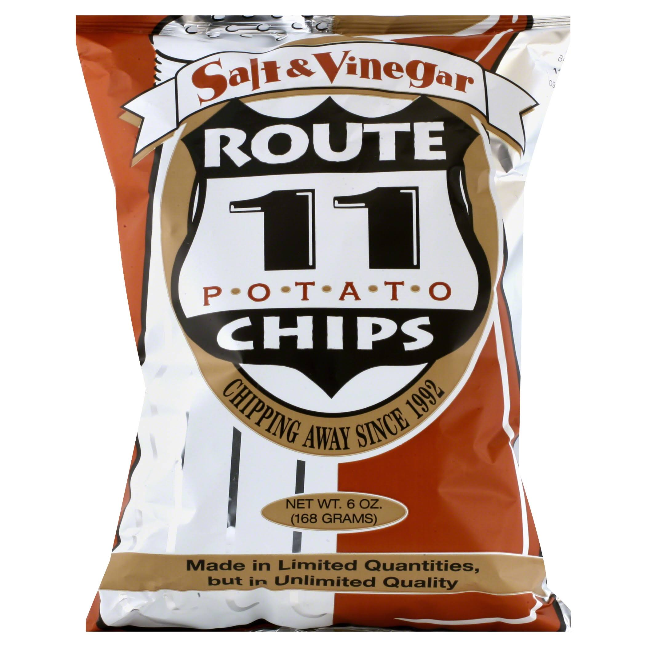 Route 11 Potato Chips, Salt & Vinegar - 6 oz