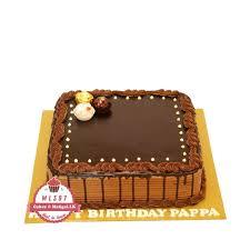 classic rectangular chocolate cake ml397