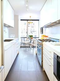 Galley Kitchens French Country Kitchen Photo 3 With Island Bench