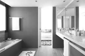 black and white bathroom subway tile glass block bathroom black