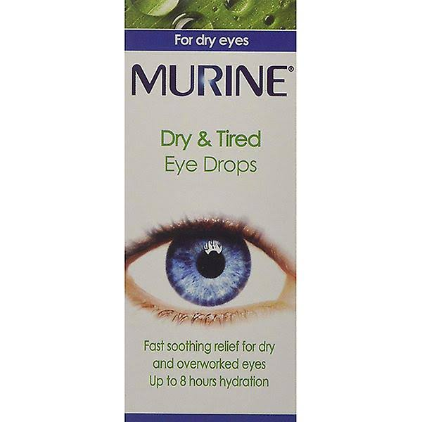 Murine Dry and Tired Eye Drops - 15ml