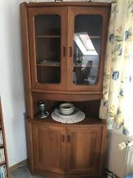 eckschrank holz wohnzimmer ebay kleinanzeigen