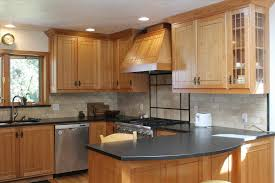 wooden cabinet and gray light brown kitchen cabinets wall color