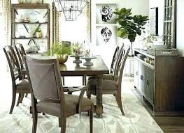 What Size Area Rug For Dining Room Table Under