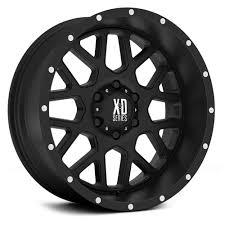 100 Xd Truck Wheels Series 820 Grenade Satin Black Rims Regarding Series
