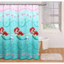 disney princess ariel little mermaid shower curtain bathroom decor