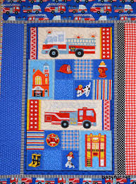 Fire Truck Quilt, Red Check, Blue Dots, Fire Engines, Baby Boy ... Kidkraft Fire Truck Toddler Bedding 77003 99 Redwhiteblue Baby Quilt Unavailable Launis Rag Firetruck Police Car And Ambulance Panel Amazoncom Carters 4 Piece Bed Set Dalmatian Fighter Crib Adorable Puppy Dalmatians Red White Blue At Artisans Folk Art Antiques Outsider Fireman Engines Trucks On Black Novelty Fabric Fat Boys Firefighter Dog 13 Pc Rescue Perfect Set For A Little Boys Room Kids Home Vintage Twin