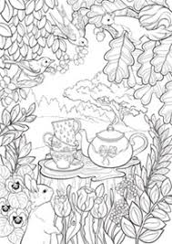 Secret Garden Printable Coloring Page From Faber Castell