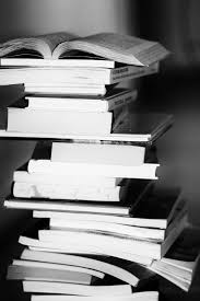Free stock photo of black and white books education