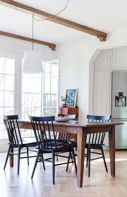 100 Shaker Round Oak Table And Chairs Dining Room Update With A Lot Of Questions Emily Henderson