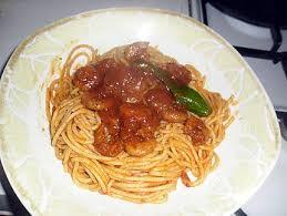 pate a la tunisienne recette de sbaguetti aux crevette a la tunisienne