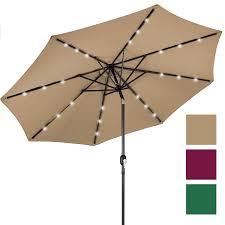 Walmart Patio Tilt Umbrellas by Decorations Lighted Patio Umbrella Outdoor Tilt Umbrella