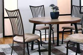 Aluminum Kitchen Chairs Modern Chair Ottoman Metal Dining Room Incredible Set Unclaimed Freight Black