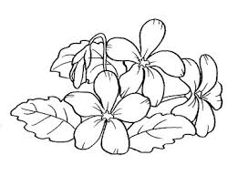 Violetta Flowers Coloring Pages