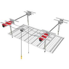 Ceiling Bike Rack Canadian Tire by Horizontal Single Bike Lift Canada Garage Organization Strong