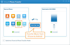 How to Transfer Music from iPhone to Android Phone