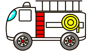 100 How To Draw A Fire Truck For Kids And Motorbike Coloring Pages For