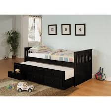 Size Trundle Bed With Storage