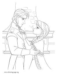 Printable Coloring Pages Frozen Fever