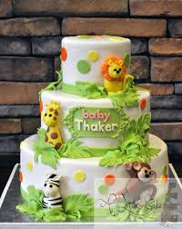 Babyshower Jungle Themed Cake