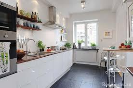 küchendesign ohne oberschränke aufbewahrungsideen