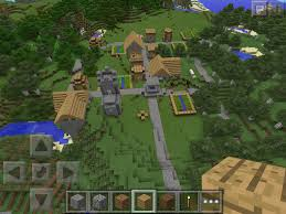 Best Pumpkin Seed Minecraft Pe by Mcpe 0 9 0 Seed Village Seed With So Much Farm Mcpe Seeds