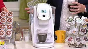 Keurig 20 K250 Coffee Maker With My K Cup 19 Packs On QVC