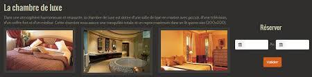 r駸erver une chambre proposer aux internautes de réserver une chambre d hôtel