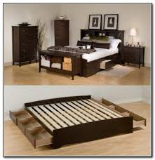 40 King Size Bed Frame Plans With Storage Queen Size Bed Frame