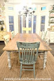 My New Farm Style Table W/mismatched Chairs! | Farmhouse ... Farm Tables Rustic Dpc Event Services Farmhouse Folding Table Chairs Turquoise Chairs With Farmhouse Table Decor Demure Sofa From Sofology Plymouth Mobilya Painted Fniture Company Steel X Base Pine Ding Room 13 Free Diy Woodworking Plans For A And Chair Rentals Colorado Tents Events 7ft Ding Set 5 Bench Crossback Whitewashed