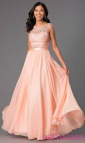 long sleeveless prom dress jeweled evening gown