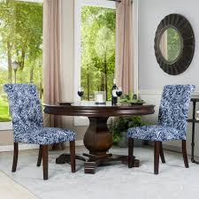 Awesome Blue And White Dining Chair House Furniture Idea ... Best Small Kitchen Ding Tables Chairs For Spaces Remarkable Plastic Covers For Room Rooms Excellent Leather Arm Chair Surprising Fniture Upholstered Elegant Luxurious Black And White Ding Room With Table Ghost Strong Swivel Contemporary Palm On Wooden Cupboard Next To The Window In Big Wicker Lampshade Haing Above Modern Leather Chairs Cultivandoayudaco Kyla Kd Pu Rose Gold Legs White Npd