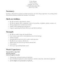 Examples Of Resumes With No Work Experience Sample Resume High School