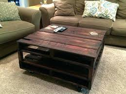 Coffee Table Made From Crates Cfee Out Of Wood