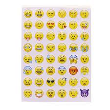 smiley bureau 10 feuille 480 émoticônes smiley journal autocollant nouveau