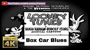 looney tunes bosko cartoon box car blues 1930 4k ultra hd