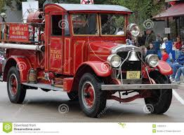 100 First Fire Truck Engine With Custom Cab Editorial Stock Image Image Of