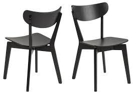 2x roxana holz esszimmerstuhl schwarz stuhl esszimmer holzstuhl küchenstuhl