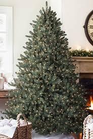 Downswept Pencil Christmas Tree by 75u0027 Downswept Pink Noble Pine Slim Artificial Christmas