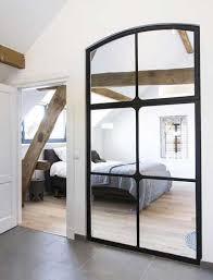 verriere chambre verrière intérieure dans chambre réalisée en miroirs