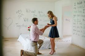 Morgan And Jacksons Proposal In Their New First Home