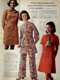 Womens No Iron Fashions 1970