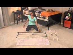 Regalo Extra Long Bed Rail by Regalo Swing Down Bedrail Overview Youtube