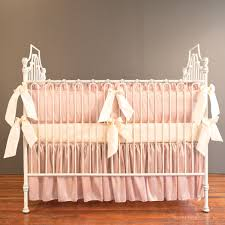 Bratt Decor Crib Skirt by Bella Blush Crib Skirt