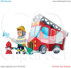 Clipart Of A Cartoon White Male Fireman Using A Hose Connected To A ... Fireman Clip Art Firefighters Fire Truck Clipart Cute New Collection Digital Fire Truck Ladder Classic Medium Duty Side View Royalty Free Cliparts Luxury Of Png Letter Master Use These Images For Your Websites Projects Reports And Engine Vector Illustrations Counting Trucks Toy Firetrucks Teach Kids Toddler Showy Black White Jkfloodrelieforg