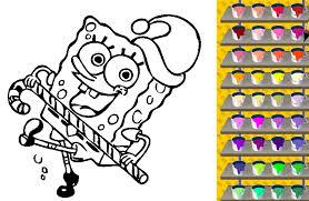 Spongebob Coloring Pages Games Site