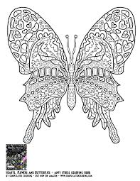 Butterfly Coloring Pages For Adults Pdf Worksheets Kindergarten Full Size
